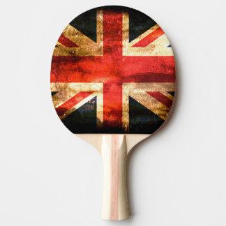 Raquete Para Ping Pong Bandeira britânica clássica