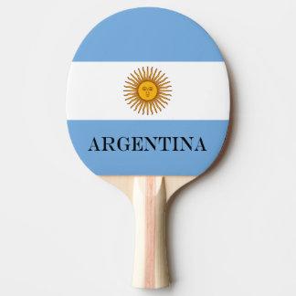 Raquete Para Ping-pong Bandeira de Argentina