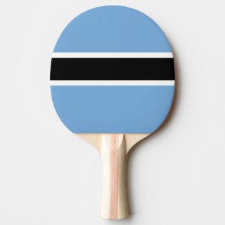 Raquete Para Ping Pong Bandeira de Botswana