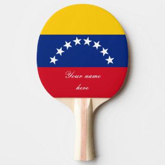Raquete Para Ping-pong Bandeira de Venezuela
