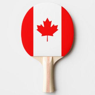 Raquete Para Ping-pong Bandeira nacional patriótica de CANADÁ