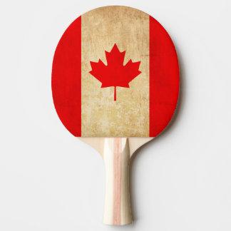 Raquete Para Ping Pong Bandeira nacional patriótica do vintage original
