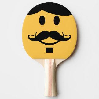 Raquete Para Ping Pong Bastão engraçado de Pong do sibilo do smiley do