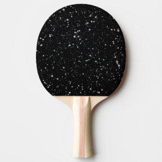 Raquete Para Ping-pong Brilho Stars2 - Preto de prata