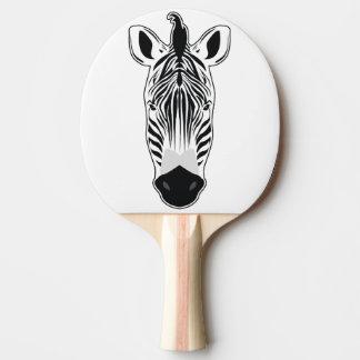 Raquete Para Ping-pong Cara da zebra