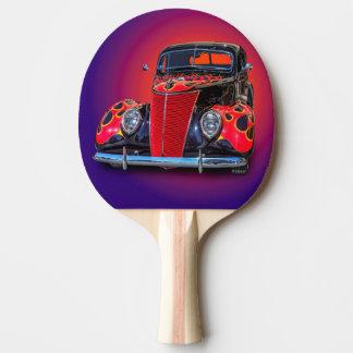 RAQUETE PARA PING-PONG CARRO VINTAGE 1937