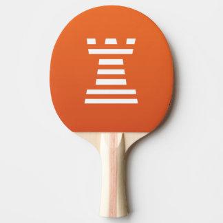 Raquete Para Ping Pong ChessME! Branco de Pong do sibilo