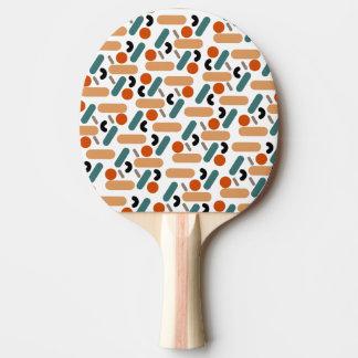 Raquete Para Ping Pong Companheiros/pá Pong do sibilo, parte traseira