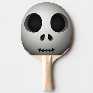 Raquete Para Ping Pong Crânio assustador