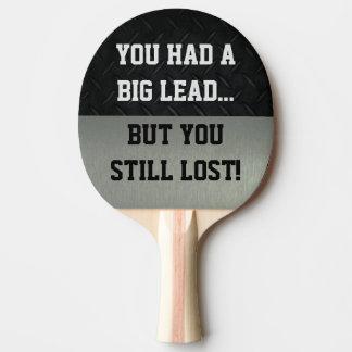 Raquete Para Ping Pong Engraçado Smack a pá de Pong do sibilo da conversa