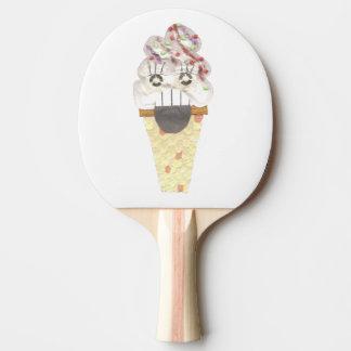 Raquete Para Ping Pong Eu grito o bastão de Pong do sibilo