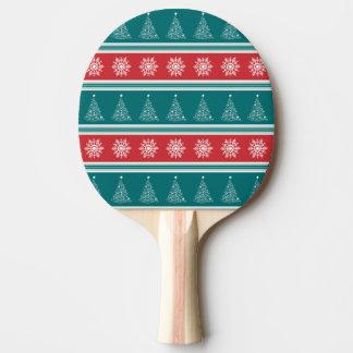 Raquete Para Ping-pong Feliz Natal