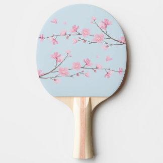 Raquete Para Ping Pong Flor de cerejeira - fundo transparente