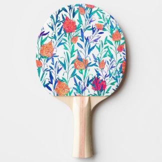 Raquete Para Ping Pong Floral vibrante