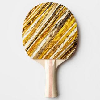 Raquete Para Ping Pong Folha de ouro cintilante de Falln