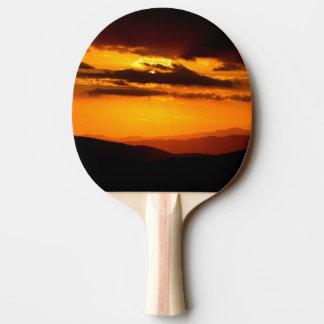 Raquete Para Ping-pong Foto bonita do por do sol