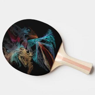 Raquete Para Ping-pong Fractal de Smokey