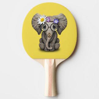Raquete Para Ping Pong Hippie bonito do elefante do bebê