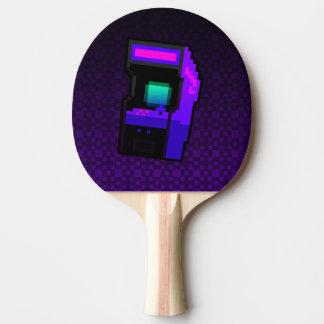 Raquete Para Ping Pong Jogo sobre! pá roxa de Pong do sibilo da arcada