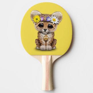 Raquete Para Ping-pong Leopardo bonito Cub do Hippie