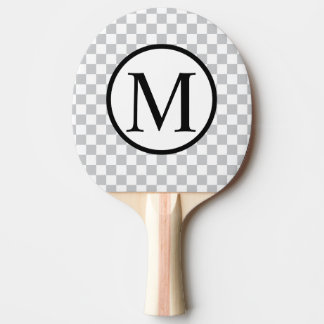Raquete Para Ping Pong LightGreyCheckerboard