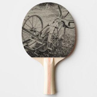 Raquete Para Ping Pong Máquina agrícola do vintage