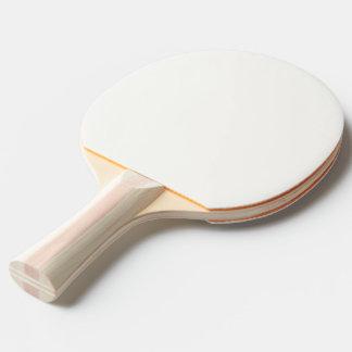 Raquete Para Ping-pong Modelo branco branco da pá de Pong do sibilo ou