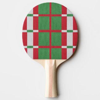 Raquete Para Ping-pong Natal listrado