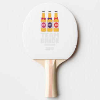 Raquete Para Ping Pong Noiva Holland da equipe 2017 Z0on9