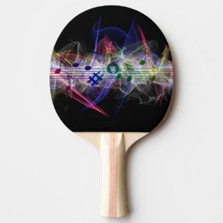Raquete Para Ping Pong Nota abstrata da música