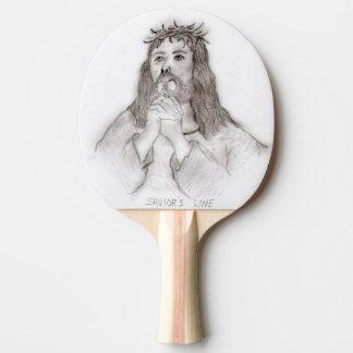 Raquete Para Ping Pong O amor do salvador