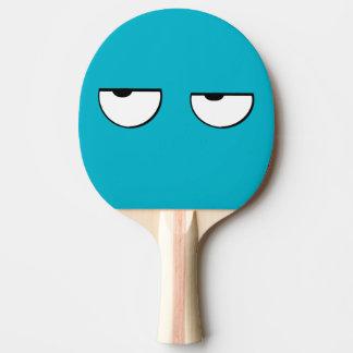 Raquete Para Ping-pong olhos legal e engraçados dos desenhos animados