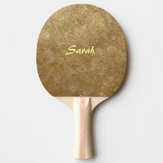 Raquete Para Ping Pong Ondinhas de pás personalizadas ouro de Pong do