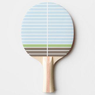 Raquete Para Ping-pong Pá abstrata moderna de Pong do sibilo da paisagem