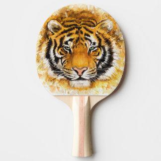 Raquete Para Ping-pong Pá artística de Pong do sibilo da cara do tigre