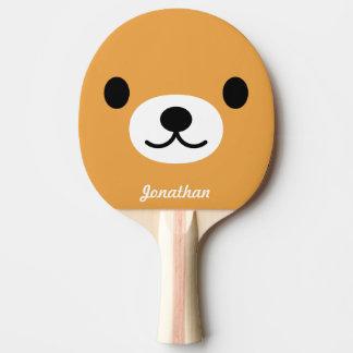 Raquete Para Ping Pong Pá bonito de Pong do sibilo do urso das crianças