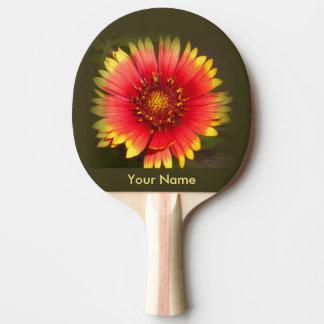 Raquete Para Ping-pong Pá colorida de Pong do sibilo do Wildflower