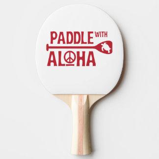 Raquete Para Ping-pong Pá com Aloha - pá de Pong do sibilo - a tartaruga