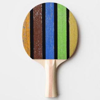 Raquete Para Ping-pong Pá de Pong do sibilo das cores, parte traseira