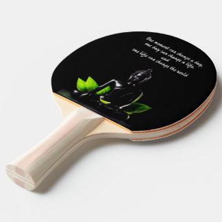 Raquete Para Ping-pong Pá do pong do sibilo das citações de Buddha