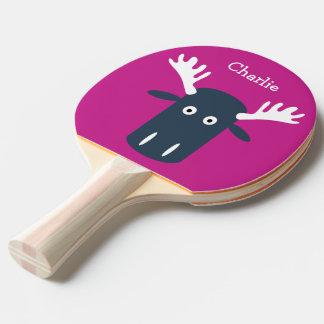 Raquete Para Ping-pong Pá feita sob encomenda principal do pong do sibilo