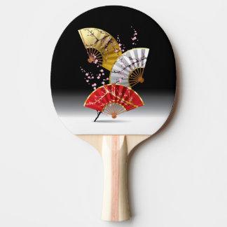 Raquete Para Ping Pong Pá japonesa de Pong do sibilo dos fãs da cereja