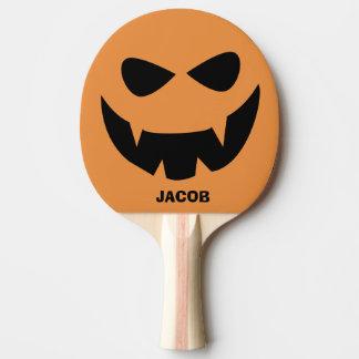 Raquete Para Ping-pong Pá personalizada de Pong do sibilo da abóbora do