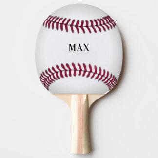 Raquete Para Ping-pong Pá personalizada de Pong do sibilo do basebol