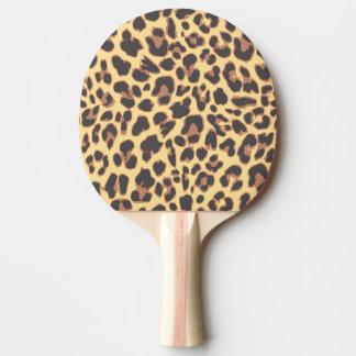 Raquete Para Ping-pong Padrões da pele animal do impressão do leopardo