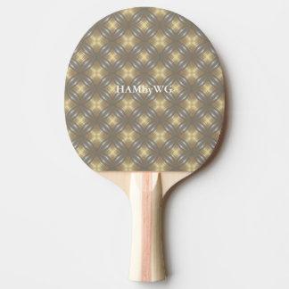 Raquete Para Ping Pong Parte traseira vermelha da borracha da pá do