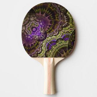 Raquete Para Ping-pong Pás de Pong do sibilo da arte abstracta