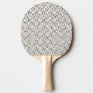Raquete Para Ping-pong Pastel amarelo verde da sereia