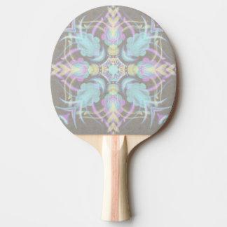 Raquete Para Ping Pong Pastel na mandala concreta da rua (variação)