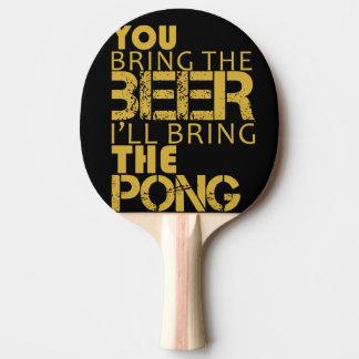 Raquete Para Ping Pong Pong da cerveja da pá do pong do sibilo